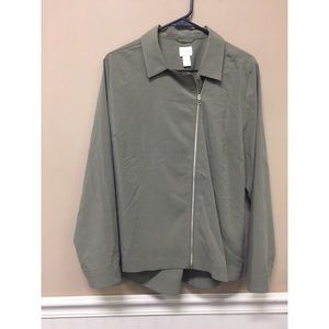 Chico's  Moto Casual Light Weight Jacket